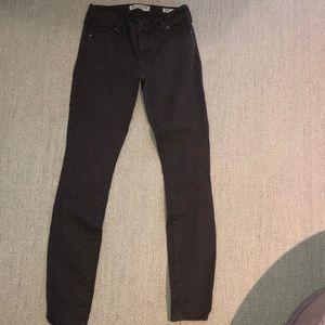 Bullhead Denim Co. low rise brown skinny jeans